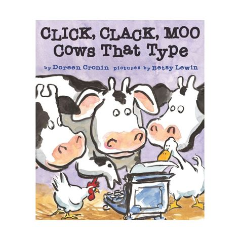 click clack moo i you a click clack book books click clack moo cows that type nemours reading