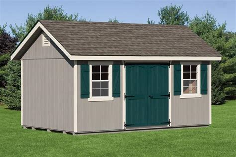 10 x16 classic garden cottage storage sheds chester