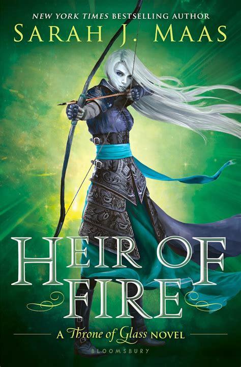 libro heir of fire 3 libros en el 225 tico saga trono de cristal sarah j maas espa 241 ol completa