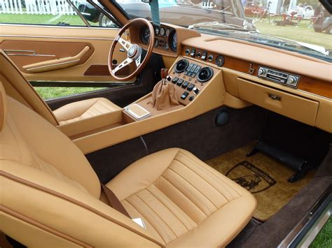 classic lamborghini interior classic car for sale car of the day 1972 lamborghini