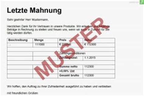 Mahnung Muster Gerichtliches Mahnverfahren Mahnungen Archiv Everbill Magazin