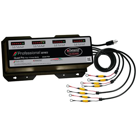 marine battery charger 60 dual pro professional series 60a 4 bank battery charger