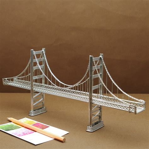 Home Design Store Michigan by Golden Gate Bridge Model Big Size Stainless Steel Wire