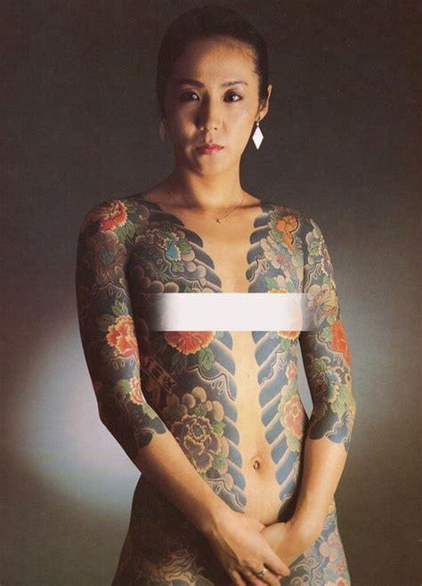 japanese yakuza tattoo female yakuza women sharejunkies 7 real woman pinterest