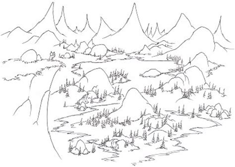 coloring pages a yellow bellied marmot in yosemite