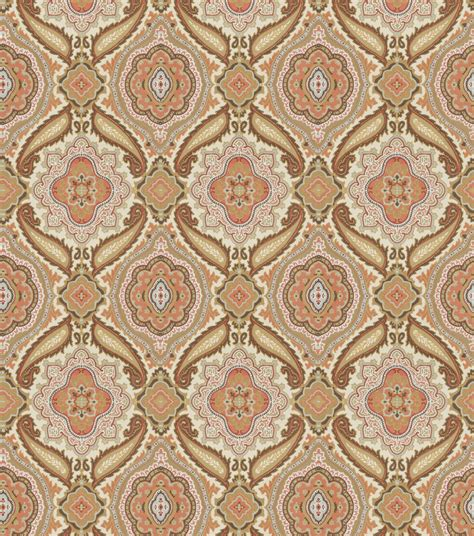home decor print fabric eaton square suppose coral at