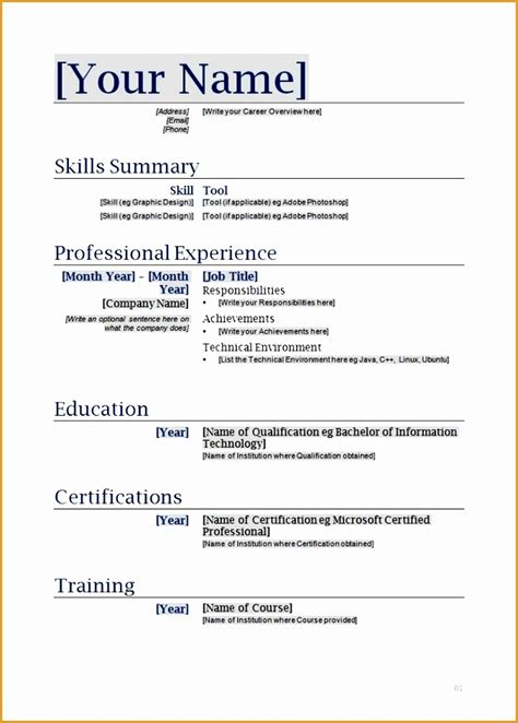 easy resume templates with fill in the blanks 9 best resume formats free sles exles format resume curruculum vitae free
