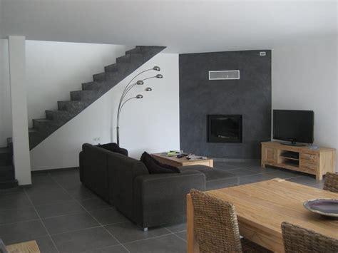 maison et decors deco salon marron et gris ides
