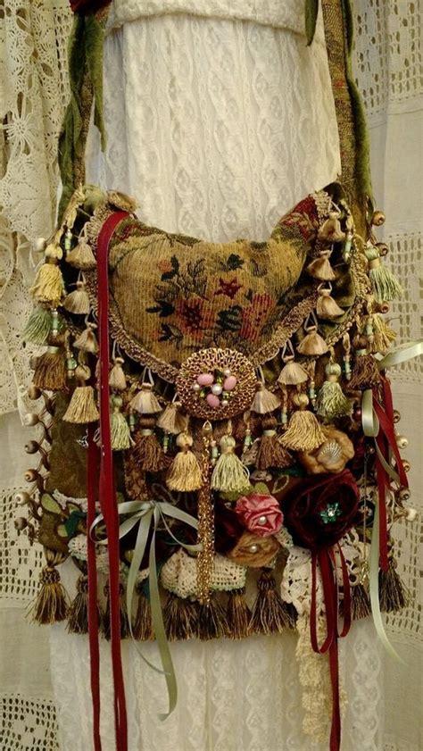 Handmade Boho Bags - bags handbag trends handmade vintage fabric crossbody