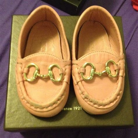 50 gucci other baby gucci pink moccasin