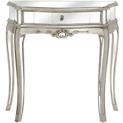 small mirrored console table argente small mirrored console table interior design and
