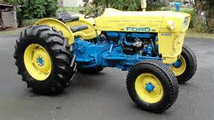 Ford 3400 Tractor Ford 3400 Review By Ford Mech Tractorbynet