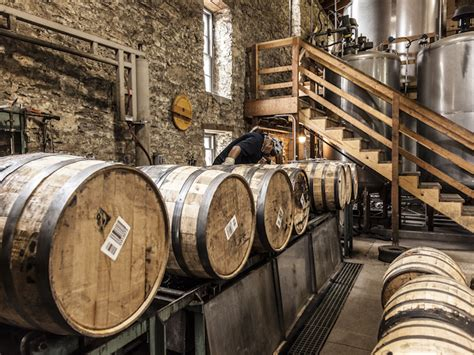the barrel room at woodford reserve photo credit straight out of louisville woodford reserve