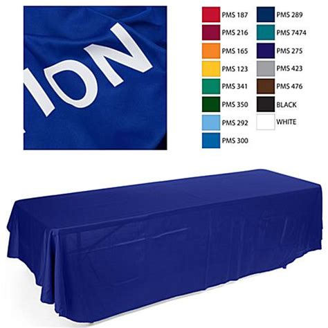 table drapes for trade shows 8 blue table drape for trade show to show off your custom