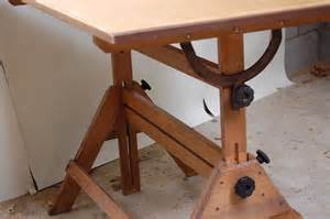 Mini Drafting Table Vintage Small Drafting Table