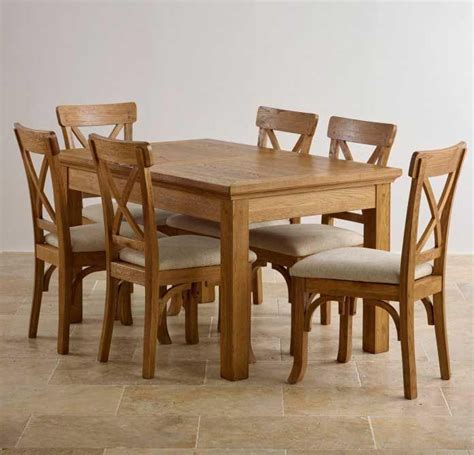 20 Best Collection Of Light Oak Dining Tables And 6 Chairs Light Oak Dining Table And 6 Chairs