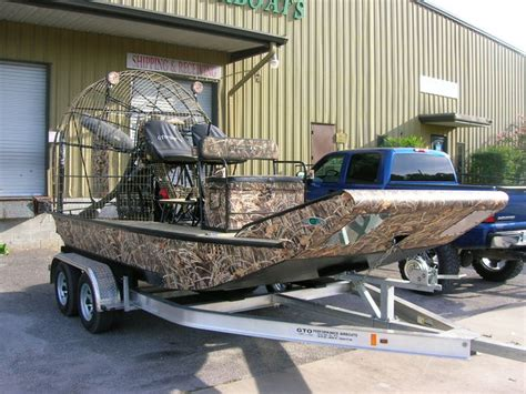 max 4 camo paint southern airboat