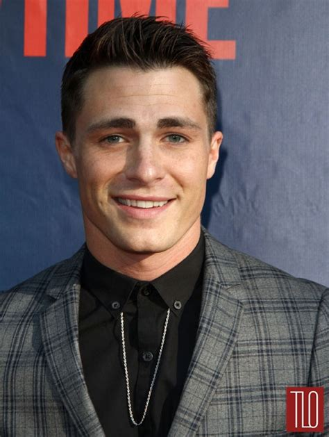 list of young male actors 2014 colton haynes at the 2014 cbs cw and showtime press tour