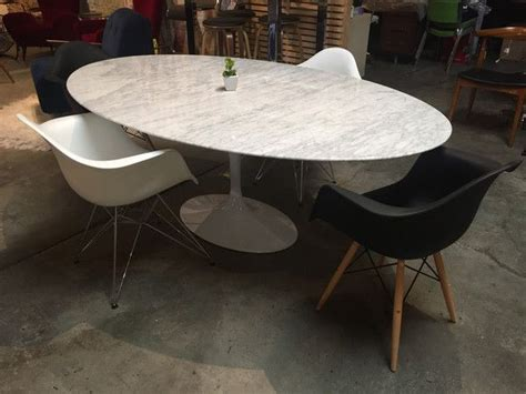 white marble oval table 17 best ideas about marble dining tables on