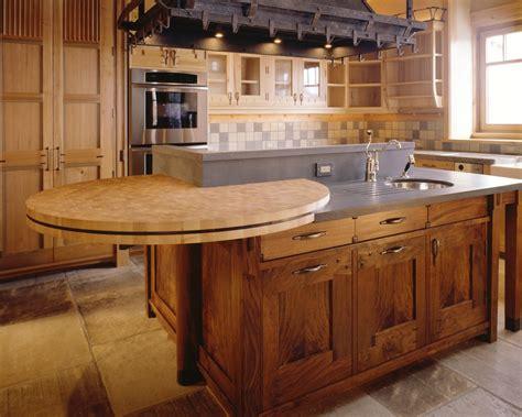 comptoir bois massif comptoir cuisine bois wraste