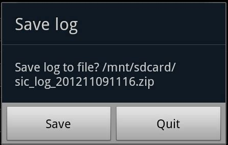 generating debug logs for android mobile security