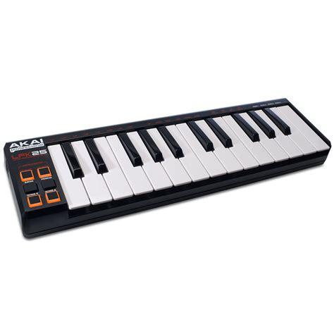 Keyboard Musik Usb akai lpk25 171 master keyboard