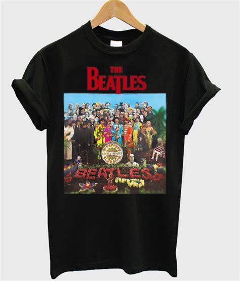 The Beatles Tees T Shirt the beatles sgt pepper t shirt