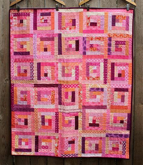 log cabin wombat quilts