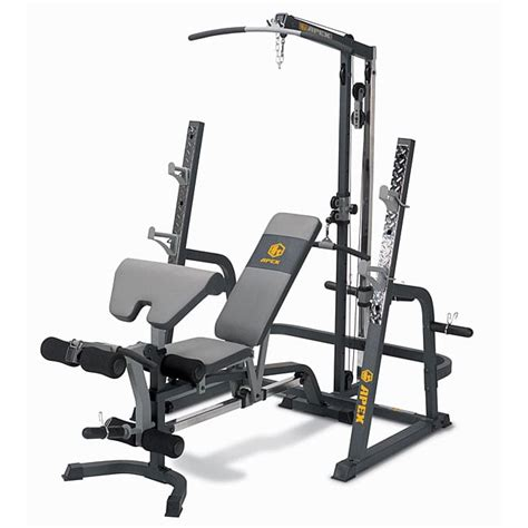 apex workout bench apex ax pwr7 cage system 12363600 overstock com