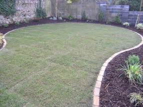 garden landscaping new lawn aftercare owen chubb garden