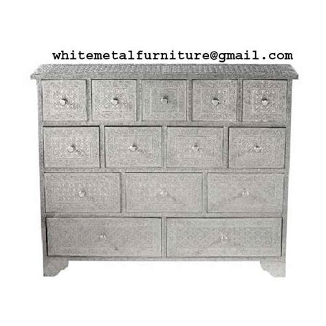 Metal Embossed Dresser by Embossed Chest Of 14 Drawers Id 4259389 Product Details