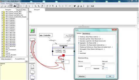 tutorial c klassen grafische programmierung mit der uml xmc tutorial f 252 r c