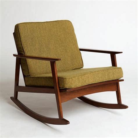 making it lovely mid century rocker chair making it lovely