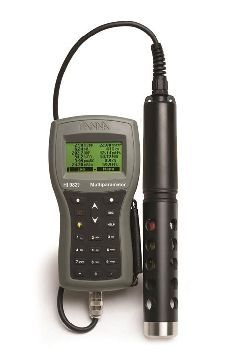 Multiparameter Ph Orp Ec multiparameter meter hi 9829 kit with ph orp ec and do sensors probe with 4 meter cable 115v
