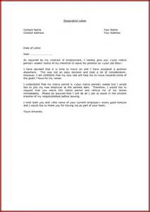 Letter sample with notice period jobstreet resignation letter sample 4