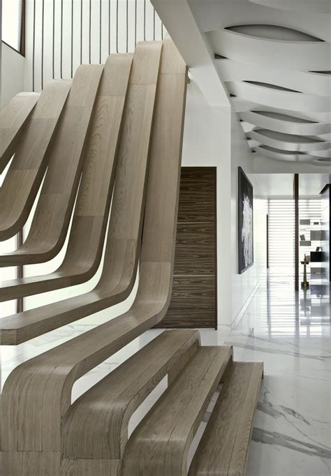 foto di scale interne scale interne moderne forma inusuale with foto di