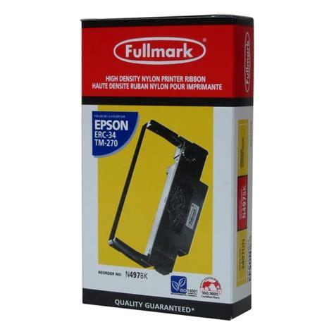 Ribbon Fullmark Original Erc 30 34 38 Pita Purple Ungu Epson Tmu lama plus authorised distributor of consumables
