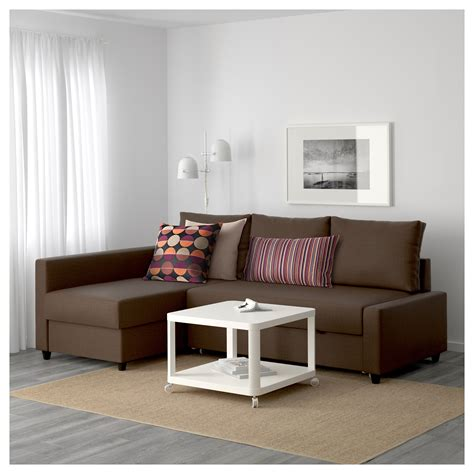 friheten corner sofa friheten corner sofa bed with storage skiftebo brown ikea
