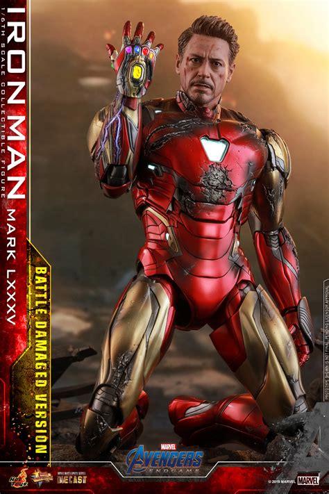 avengers endgame iron man mark battle damaged