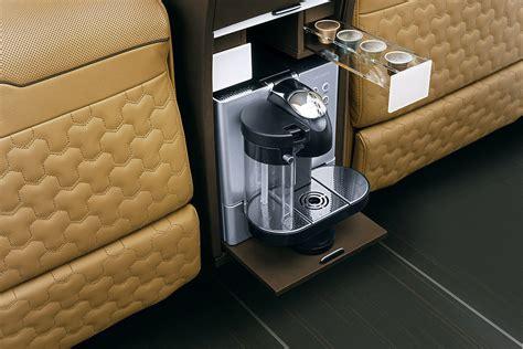 Auto Kaffeemaschine by Brabus Business Lounge Sprinter Moskau Motor Show 2014