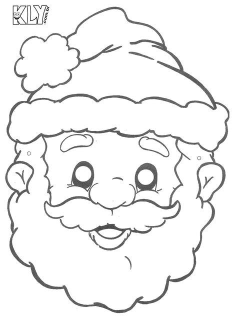 imagenes de santa claus para copiar desenhos de papai noel para colorir especial de natal qdb