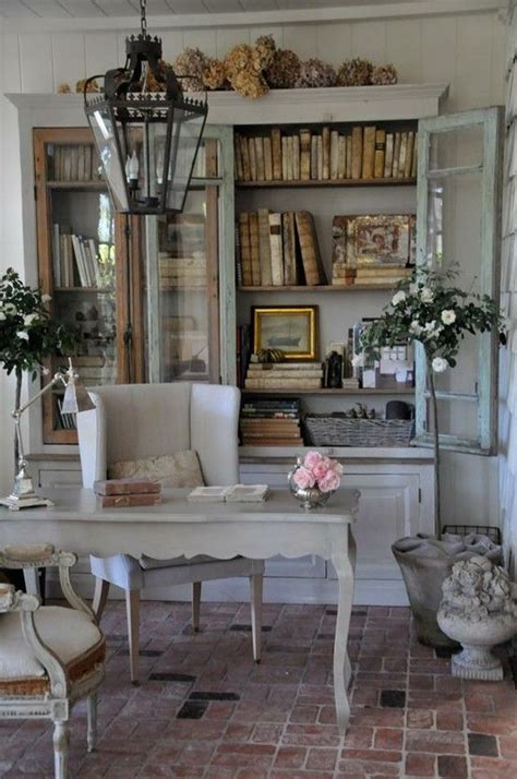 country chic home decor 15 country home office d 233 cor ideas shelterness