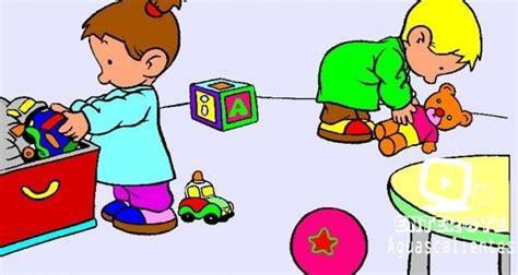 imagenes niños recogiendo sus juguetes l 237 nea infantil ordenar los juguetes ent 233 rate