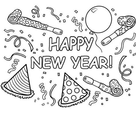 2017 year color happy new year 2017 coloring pages happy greeting images