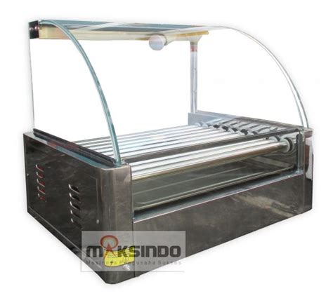 Mesin Panggangan Sosis mesin panggangan grill mks hd10 toko mesin maksindo