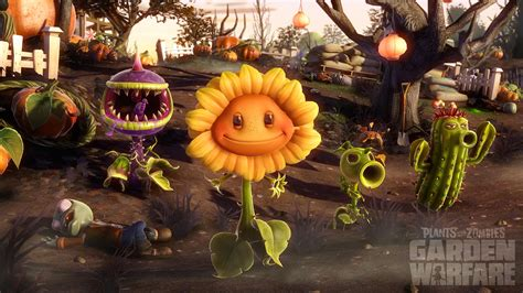 plants vs zombies garden warfare on preview