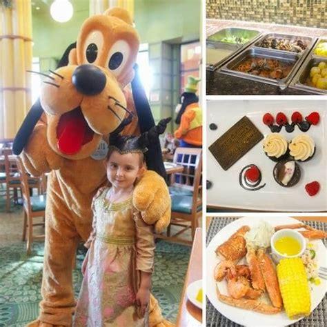 Garden Grove Character Dinner Walt Disney World S Swan Resort Review Sugar Spice And