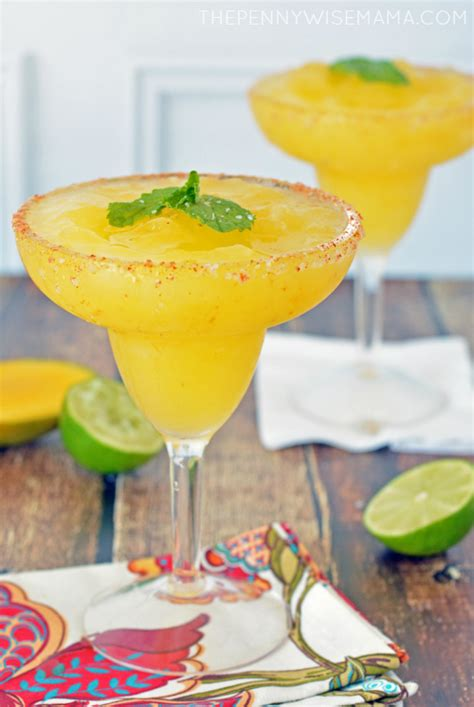 mango margarita recipe the best mango margarita recipe the pennywisemama