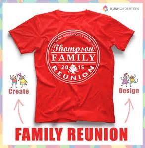family reunion t shirt design idea s create a custom