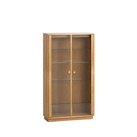 Ercol Display Cabinet by Ercol Medium Display Cabinet At Smiths The Rink